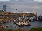 Costa Concordia reflotado operación horas
