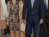 Letizia repite vestido Hugo Boss Valencia