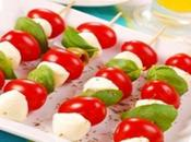 Brochetas tomates cherry
