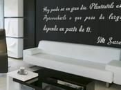 letra paredes vinilo decorativo