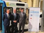 Málaga presenta Proyecto Victoria, primer autobús carga eléctrica inducción