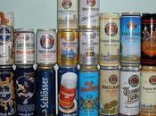 Subasta colección latas cerveza
