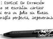 Cartas: peligro extinción?