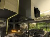A-cero presenta proyecto interiorismo para vivienda proyectada Rozas: Planta sótano planta baja