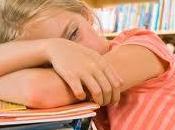 Cuando niños estresan
