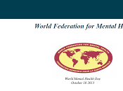 Salud Mental Adultos Mayores Mundial 2013 WFMH