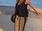 Look day: Leopard pants