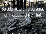 Suicida mata personas mezquita chií Irak