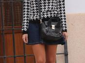 Houndstooth Print Pata Gallo