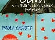 Olivia lista sueños posibles. Paola Calvetti