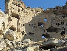 Ciudad abandonada Cavusin, Capadocia