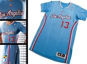 nuevo uniforme Angeles Clippers.