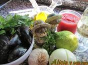 Mejillones salsa mediterránea