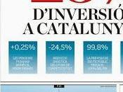 """Manipulación nacionalista inversión Catalunya Presupuesto 2014 cómo """"Madrid roba Madrid""""."""