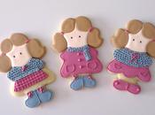 Galletas decoradas: niñas guardan ropa verano!