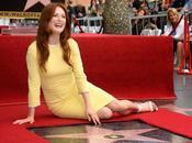 Julianne Moore tiene estrella Walk Fame
