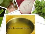 Caldo verduras para combatir celulitis