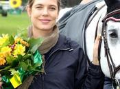 Carlota Casiraghi, hermosa premamá