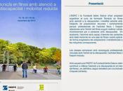 Formación Técnico fitness atención discapacidad movilidad reducida INEFC Fundación Isidre Esteve
