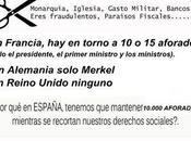 españoles desconocen todavía ciento suciedades protagonizado políticos
