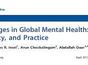 Grandes desafíos Salud Mental Global: Integración Investigación, Políticas Públicas Práctica Collins col.