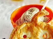 Pasta bocaditos hojaldre forma calabaza