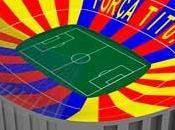 'Força Tito!', lema mosaico para Barcelona Real Madrid