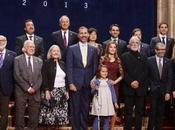 Premios Príncipe Asturias. Dña. Letizia repite vestido encaje Felipe Varela