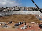 Subsecretario deportes visitó obras estadio valparaíso