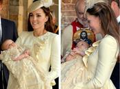 look Kate Middleton bautismo príncipe George
