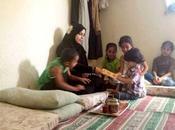 Mafraq: cristianos jordanos ayudan refugiados sirios musulmanes