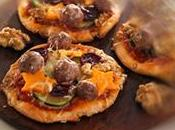 Minipizzas verduras
