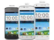 Nueva línea teléfonos inteligentes Android Blade