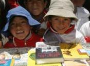 niños (Bolivia) promueven alimentación sana.