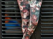 Zara Printed Jeans