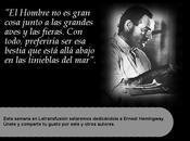 Semana dedicada Ernest Hemingway