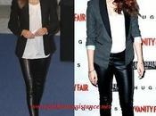 Letizia, Kristen Stewart, Victoria Beckham, Olivia Palermo famosas adoran cuero