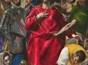 "Expolio Cristo"", Greco.Temporalmente Museo Prado"