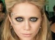 """look! Mary Kate Olsen como bruja """"Beastly"""" Tip: cómo borrar cejas."""