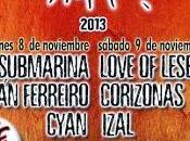 Horarios IntroMusic Festival 2013 Noviembre; Valladolid)