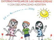 Jornada sobre educación entorno familiar niñ@s sord@s discapacidad auditiva