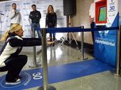 Sentadillas para pagar metro Moscú