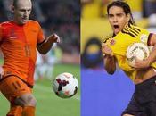 Colombia Holanda miden primera camino Brasil