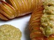 Recetas: Patatas hasselback salsa veraniega