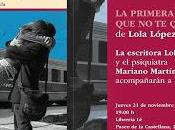 """Presentación Madrid primera quiero"""", Lola López Mondéjar"""