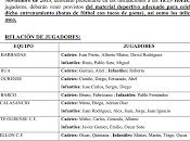 Selección Alevín Sub-14 Ourense: Entrenamiento Noviembre 2013