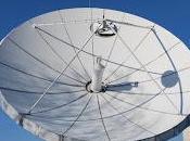tienen antenas parabólicas forma curva cónica
