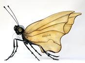 Esculturas Insectos Animales hechos Materiales Reutilizados