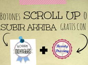 "Freebies. Botones scroll-up ""subir principio página"" gratis Tutorial"