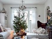Navidad blanco: inspiración escandinava